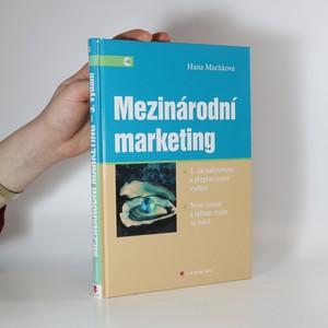 náhled knihy - Mezinárodní marketing : nové trendy a reflexe změn ve světě