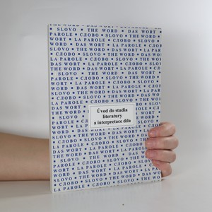 náhled knihy - Úvod do studia literatury a interpretace díla