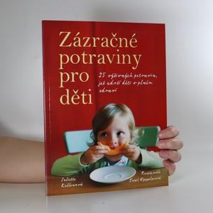 náhled knihy - Zázračné potraviny pro děti