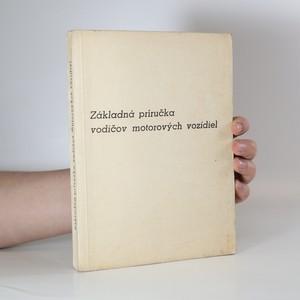 náhled knihy - Základná příručka vodičov motorových vozidiel