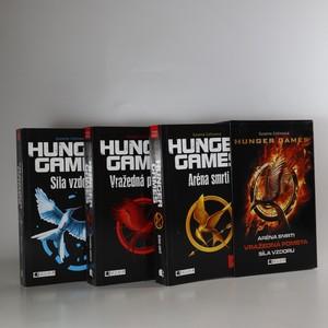 náhled knihy - Hunger Games. Aréna smrti. Vražedná pomsta. Síla vzdoru (tři svazky+box komplet, 2. vydání)