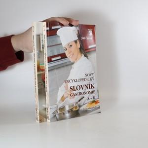 náhled knihy - Nový encyklopedický slovník gastronomie  (2 svazky A-K a L-Ž)