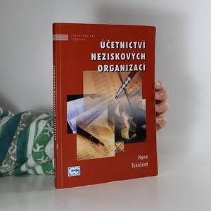 náhled knihy - Účetnictví neziskových organizací