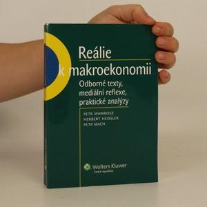 náhled knihy - Reálie k makroekonomii. Odborné texty, mediální reflexe, praktické analýzy
