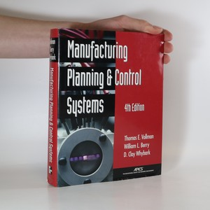 náhled knihy - Manufacturing Planning and Control Systems