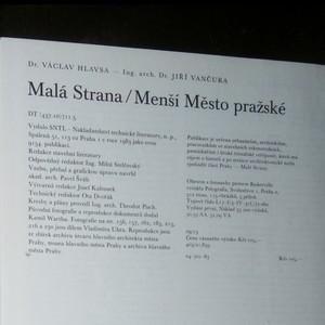 antikvární kniha Malá Strana ; Menší Město pražské, 1983