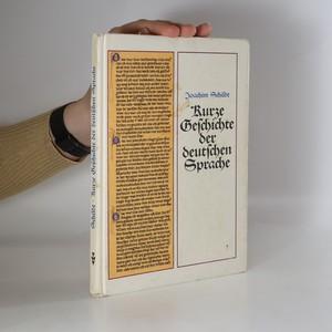náhled knihy - Kurze Geschichte der deutschen Sprache