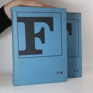 náhled knihy - Česko-francouzský slovník (2 svazky, viz foto)