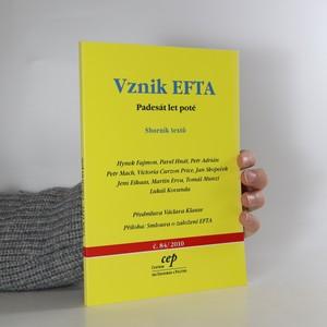 náhled knihy - Vznik EFTA : padesát let poté