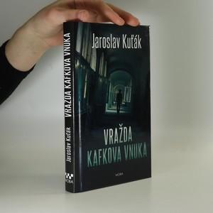 náhled knihy - Vražda Kafkova vnuka