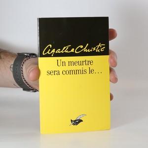 náhled knihy - Un meurtre sera commis le...