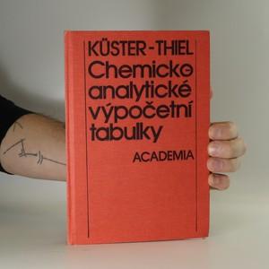 náhled knihy - Chemicko-analytické výpočetní tabulky