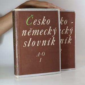 náhled knihy - Česko - německý slovník A-O, P-Ž (2 svazky)