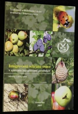 náhled knihy - Integrovaná ochrana ovoce v systému integrované produkce