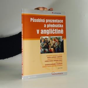 náhled knihy - Působivá prezentace a přednáška v angličtině