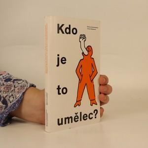 náhled knihy - Kdo je to umělec?