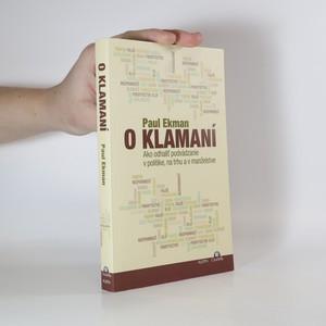 náhled knihy - O klamaní (slovensky)