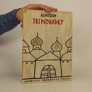 náhled knihy - Tři pohádky (+ originální lept Blahoslava Formana, bratra režiséra Miloše Formana)