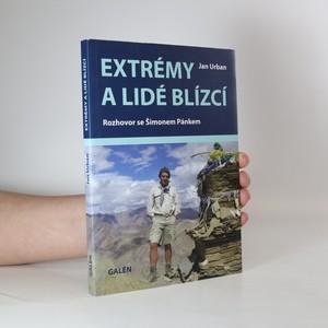 náhled knihy - Extrémy a lidé blízcí : rozhovor se Šimonem Pánkem