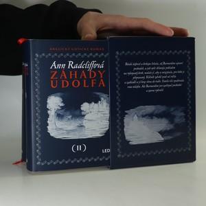 náhled knihy - Záhady Udolfa. Anglický gotický román