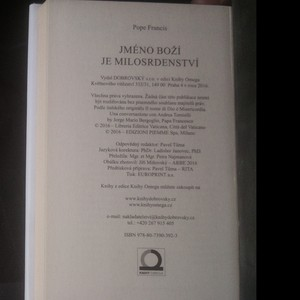 antikvární kniha Jméno boží je milosrdenství : rozhovor s Andreou Torniellim, 2016