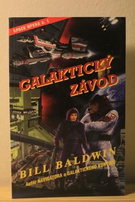 náhled knihy - Galaktický závod