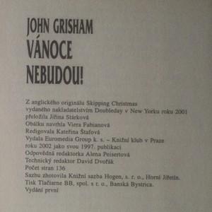 antikvární kniha Vánoce nebudou!, 2002