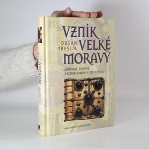 náhled knihy - Vznik Velké Moravy