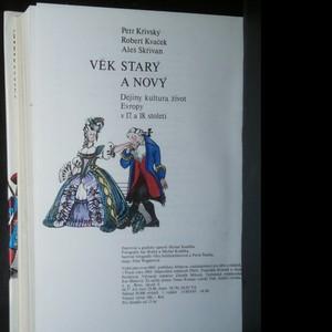 antikvární kniha Věk starý a nový : dějiny, kultura, život Evropy v 17. a 18. století, 1985