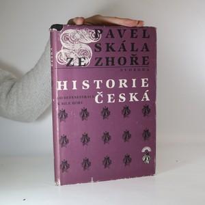 náhled knihy - Historie česká