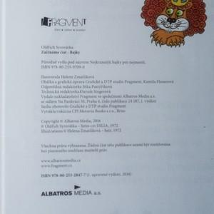 antikvární kniha Bajky, 2016