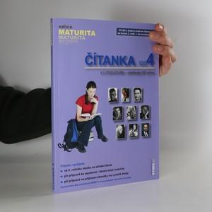 náhled knihy - Čítanka 4 : k Literatuře - přehledu SŠ učiva