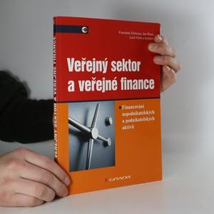 náhled knihy - Veřejný sektor a efektivní rozhodování : financování nepodnikatelských a podnikatelských aktivit
