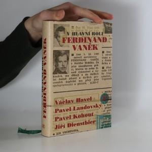 náhled knihy - V hlavní roli Ferdinand Vaněk