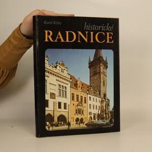 náhled knihy - Historické radnice