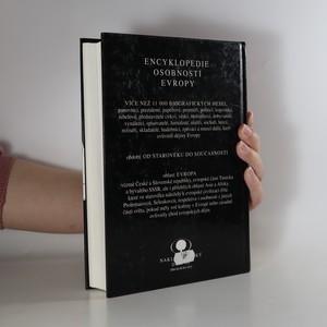antikvární kniha Encyklopedie osobností Evropy. Od starověku do současnosti, 1993