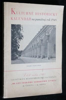 náhled knihy - Kulturně historický kalendář na památný rok 1948