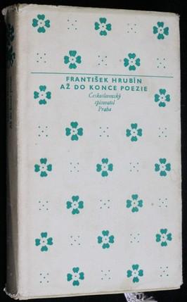 náhled knihy - Až do konce poezie : Výbor z veršů