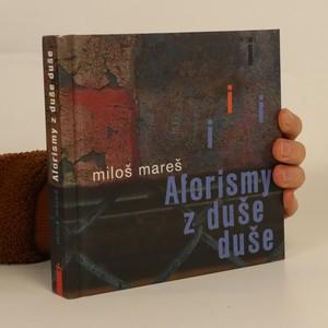 náhled knihy - Aforismy z duše duše