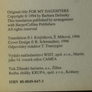 antikvární kniha Mým dcerám, neuveden