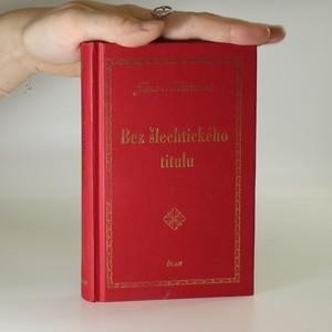 náhled knihy - Bez šlechtického titulu