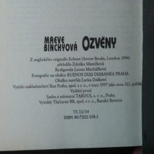 antikvární kniha Ozvěny, 1997