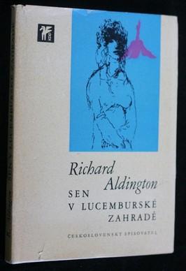 náhled knihy - Sen v Lucemburské zahradě