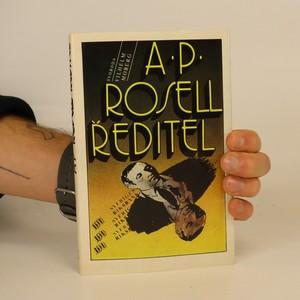 náhled knihy - A.P. Rosell, ředitel