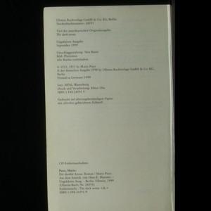 antikvární kniha Die dunkle Arena, 1999