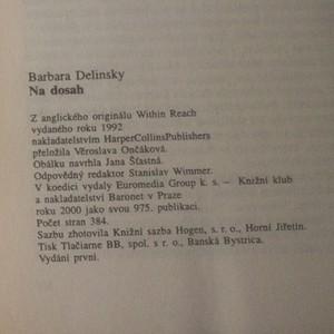antikvární kniha Na dosah, 2000