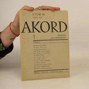 náhled knihy - Akord. 1. číslo