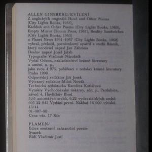 antikvární kniha Kvílení, 1990