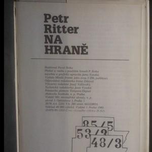 antikvární kniha Na hraně, 1989