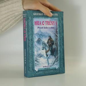 náhled knihy - Hra o trůny 1. Píseň ledu a ohně